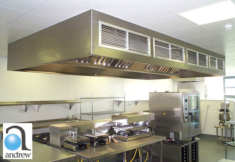Kitchen Ventilation Canopies And Ceilings From Andrew